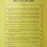 RECOLLECTIO — 2012