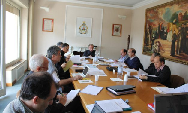 The work sessions of Prior General, his Council and the eight Prior Provincials