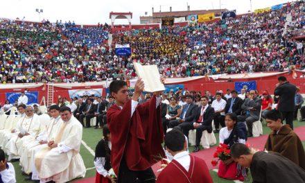 Chota festeja sus 50 años como iglesia particular, bajo el cuidado de los agustinos recoletos
