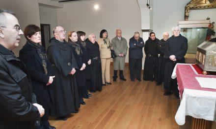 Los agustinos recoletos ceden una reliquia de San Millán a la nueva iglesia ortodoxa rusa de Madrid