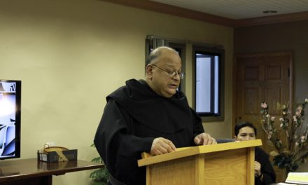 The Augustinian Recollects re-elect Joseph Gallardo as Prior Provincial of St. Augustine Province for the next four years