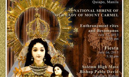 """Comienza la rehabilitación de """"la iglesia de acero"""" para conmemorar los cuatro siglos de la Virgen del Carmen"""