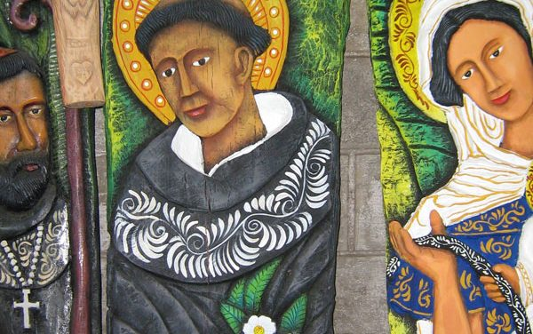 Augustinian Recollect Saints, under the bold and exotic perspective of a street artist of the Philippines