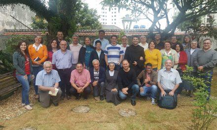 Presentación en Brasil del material para ejercicios espirituales y talleres de oración agustinianos 2017