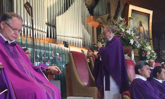 El Prior general deja el Proyecto de Vida y misión de la Orden en manos de la Virgen de Guadalupe