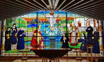 Bendición e inauguración de la nueva curia provincial de Bogotá