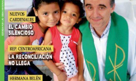 """""""Entre el anuncio y la denuncia"""". Entrevista a Fr. Simón Puertas, OAR, en la Revista Misioneros de OMP"""