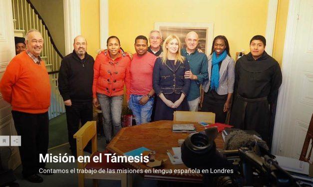 La labor de los Agustinos Recoletos con la población latina de Londres en el programa Pueblo de Dios