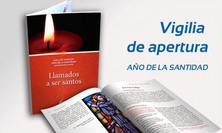 Ya está disponible la Vigilia de Apertura del Año de la Santidad 2017