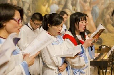 Retiro de cuaresma de la Capellanía china de Madrid en la parroquia Santa Rita