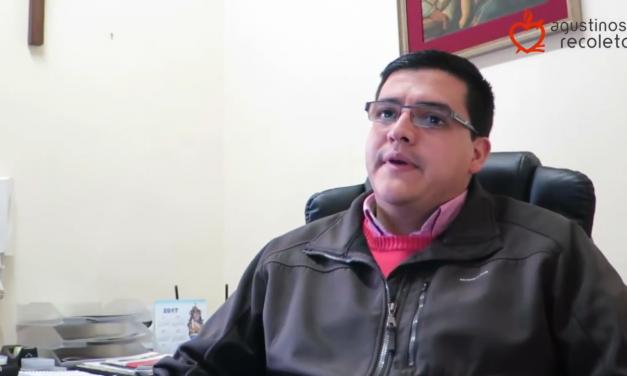 """Juan Pablo Martínez, OAR: """"Los jóvenes en la Iglesia, en la sociedad y en la OAR son ese presente vivo que llena de esperanza y alegría"""""""