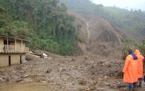 Las lluvias dejan numerosos damnificados y zonas arrasadas en Perú