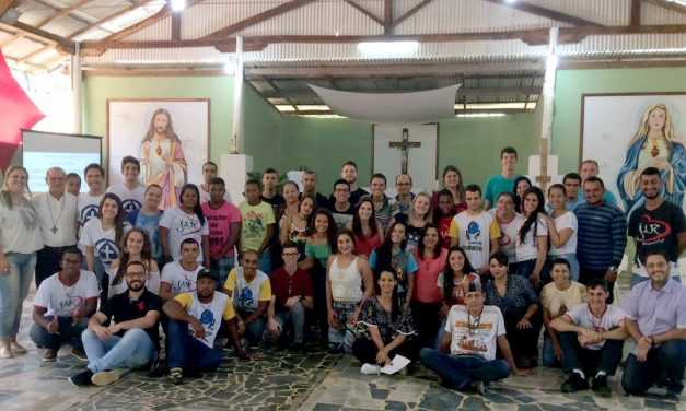 Regional meeting of young leaders of Augustinian Recollect parishes in Brazil