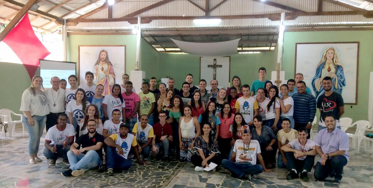 Encuentro regional de jóvenes líderes de parroquias agustino recoletos en Brasil