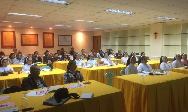 Presentation in the Philippines of the Augustinian online pedagogy course