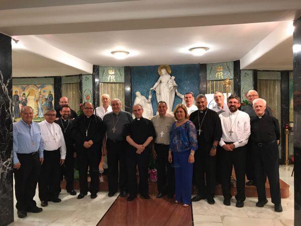 Visita de los Obispos de Panamá a la Curia General