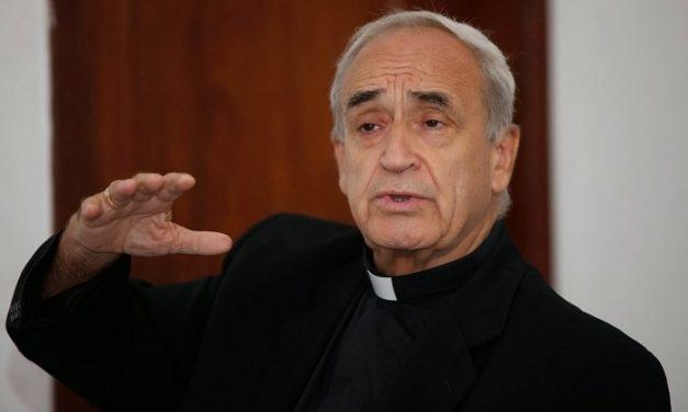 """José Luis Azcona, agustino recoleto y obispo emérito de Marajó, Brasil: """"El tráfico de personas es un tumor mundial""""."""