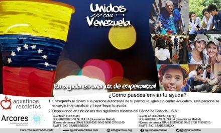 """Campaña """"Unidos con Venezuela: tu ayuda es una luz de esperanza"""""""