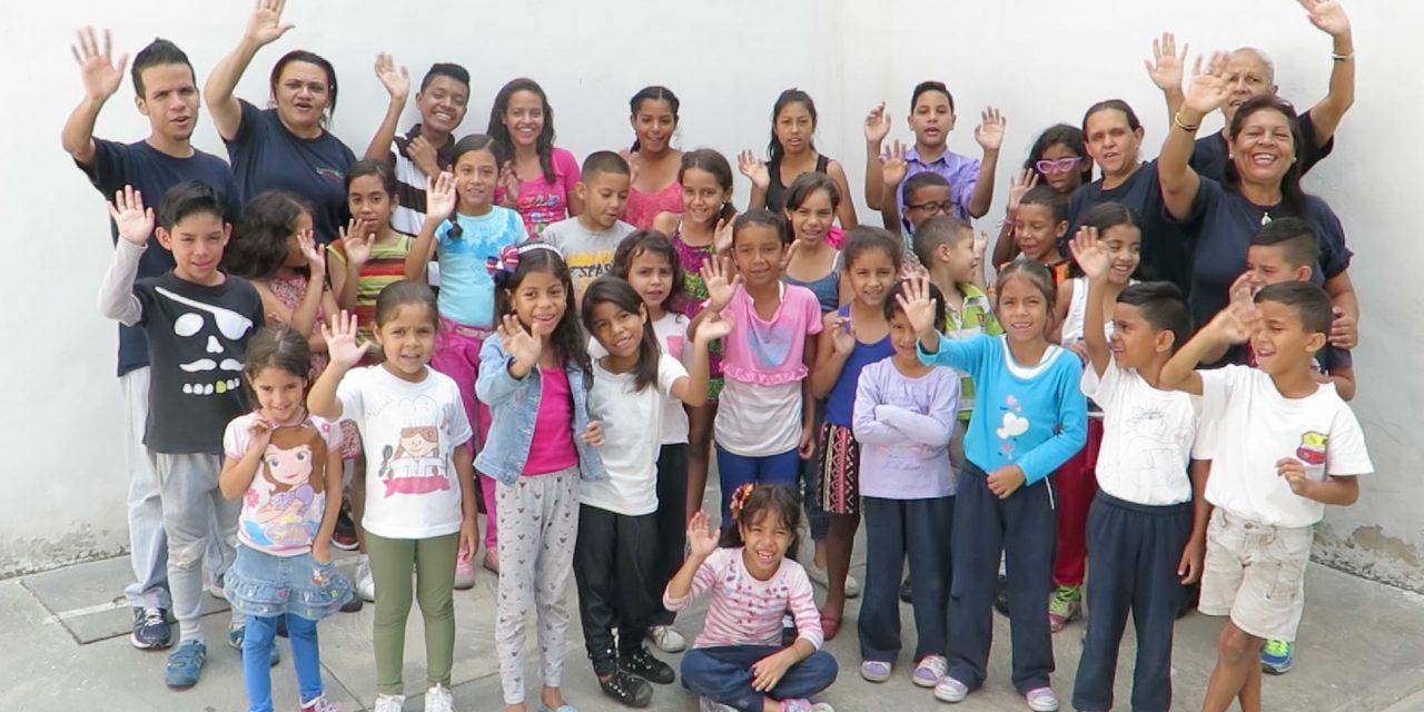 Un 'oasis' de educación y diversión en el barrio de La Pastora (Caracas)