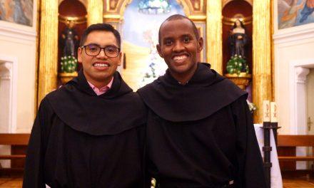 Dos nuevos profesos en la Orden