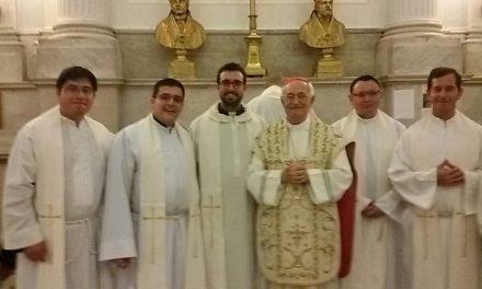 La celebración de la Solemnidad de san Agustín, también en Roma