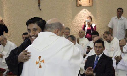 Fray Ricardo Magallanes, un nuevo integrante de la familia agustino recoleta en México