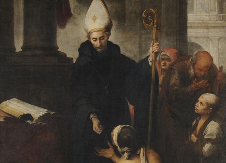 Santo Tomás de Villanueva, ejemplo de santidad y de entrega a los pobres