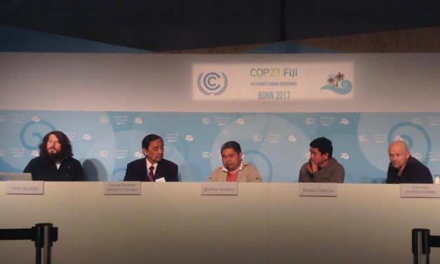 The Augustinian Recollects have participated in the Bonn Climate Change Conference