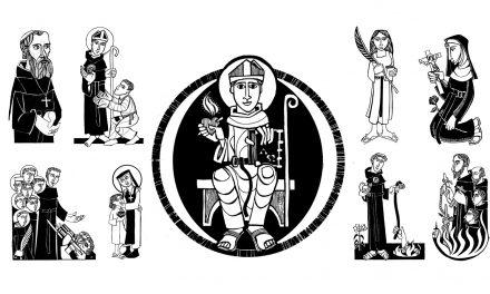 La festividad de todos los santos agustinos recoletos pone fin al Año de la Santidad