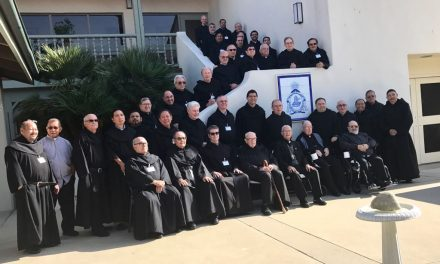 The Augustinian Recollects of the United States meet in California to consolidate communion and prepare the union of the provinces