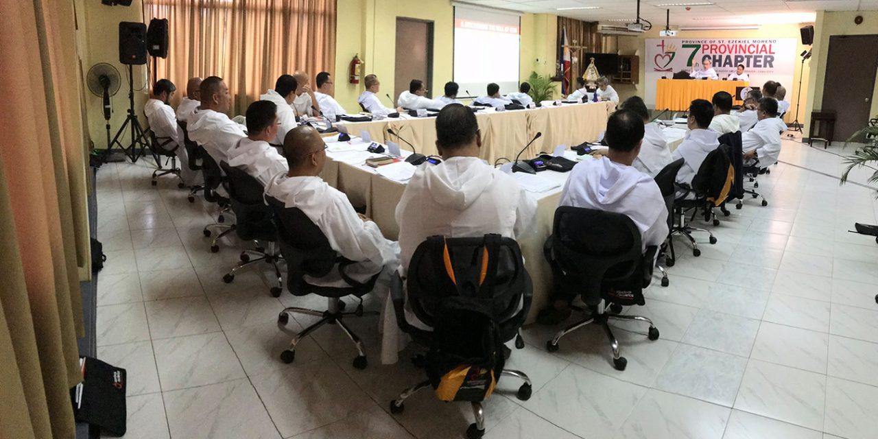 La provincia San Ezequiel Moreno inicia su 7º Capítulo provincial en Cebú