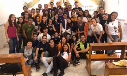 Las Juventudes Agustino Recoletas de Venezuela se unen en un mismo corazón