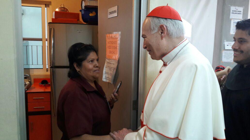 El Cardenal Carlos Aguiar agradece a los Agustinos Recoletos su labor en CARDI