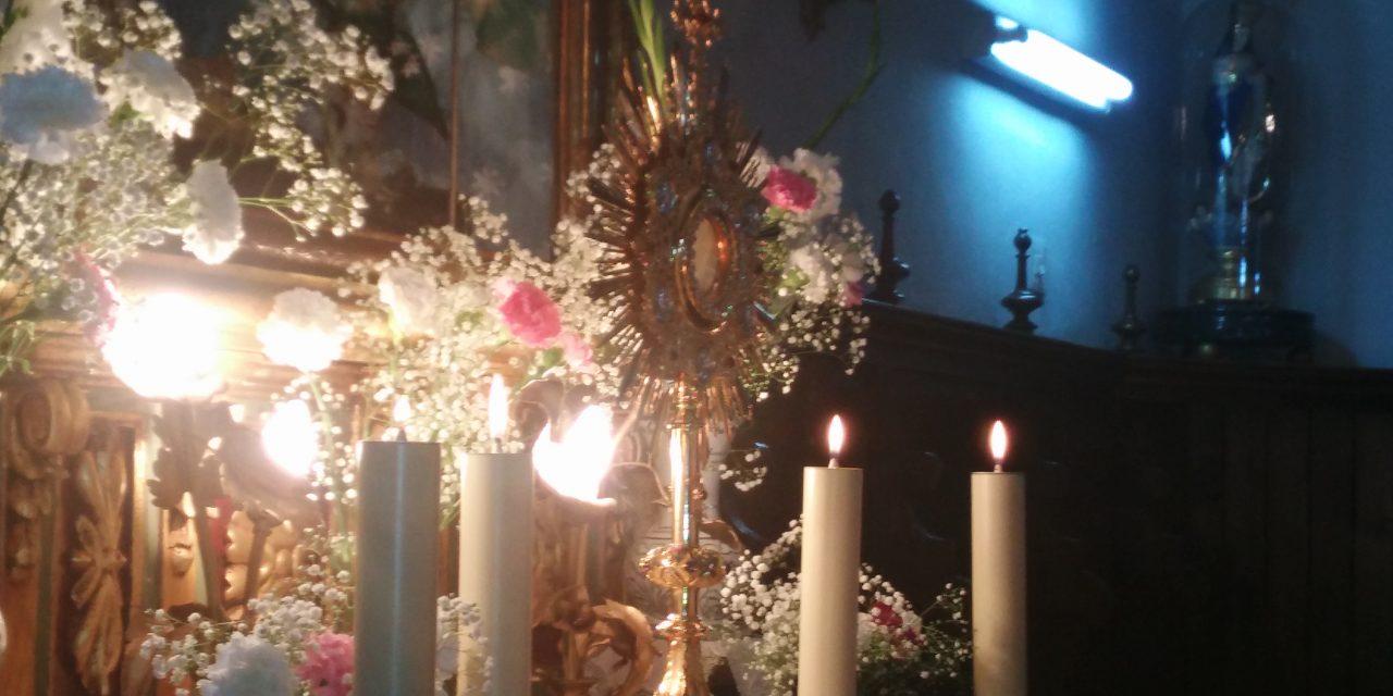 Una pasión por la eucaristía