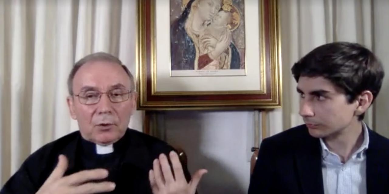 """El Prior general, en Facebook Live: """"Los jóvenes deben transmitir esperanza y alegría"""""""