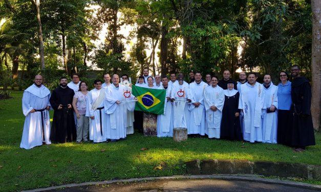 Semana Vocacional 2018: los orientadores de la familia agustino recoleta de Brasil, en unión