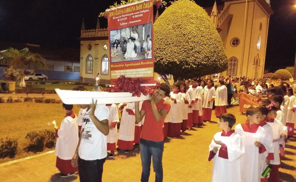 Lábrea no olvida a la hermana Cleusa en el 33er aniversario de su martirio