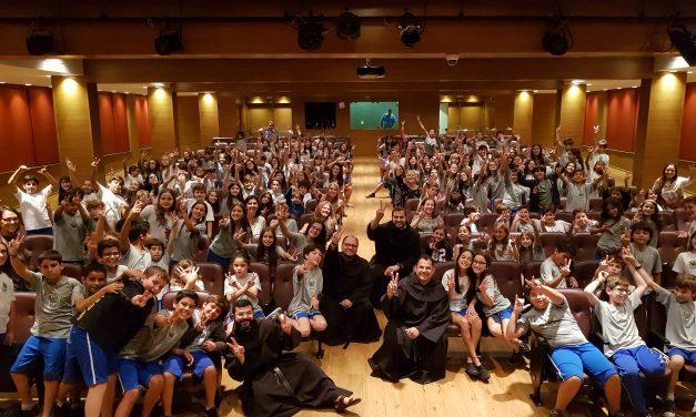 Colegios y parroquias disfrutan de la Expedición Vocacional 2018 en Brasil