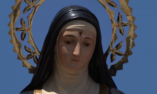 """""""Doy gracias a Santa Rita por haber salvado la vida de mi marido"""""""