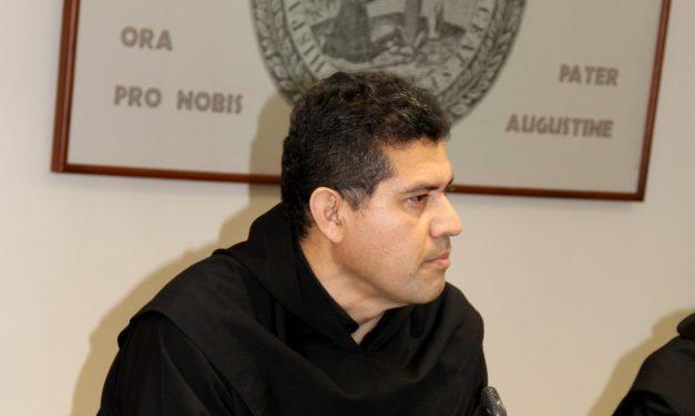 Sergio Sánchez, al frente de la Provincia San Nicolás de Tolentino