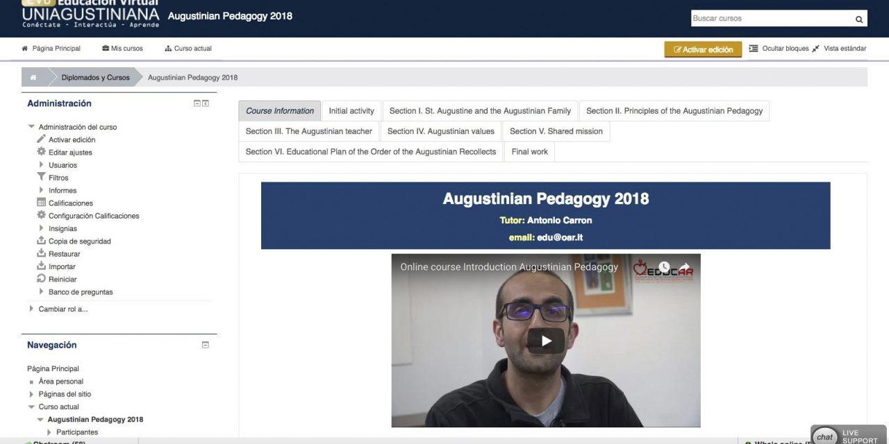 La red EDUCAR impulsa la formación agustiniana online para docentes