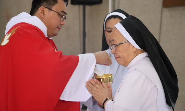 Sister Lucena L. Antipala, elected new Superior General of the Augustinian Recollect Sisters