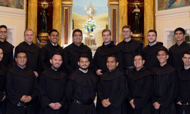 La profesión de 16 agustinos recoletos se retransmitirá por primera vez en Facebook
