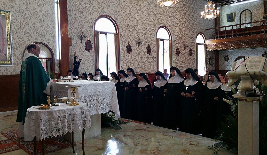 75º aniversario del Monasterio mexicano de Santa Mónica