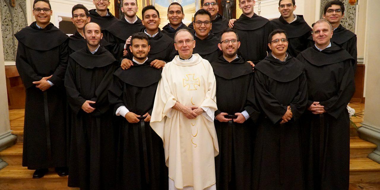 Entregados a Dios: 26 jóvenes comienzan nuevas experiencias como agustinos recoletos