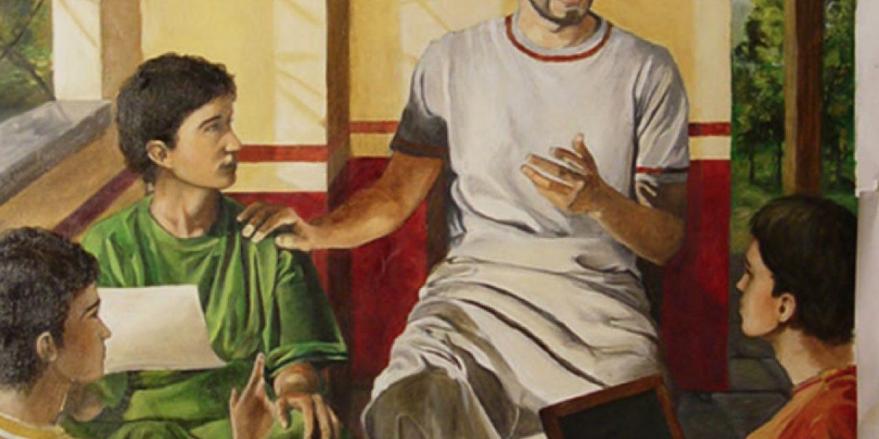 San Agustín y los jóvenes
