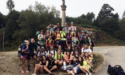"""El Camino de Santiago, con las JAR: """"El corazón se queda engrandecido"""""""