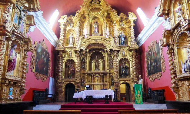 El templo de Santa María Magdalena: una joya barroca en Lima (Perú)