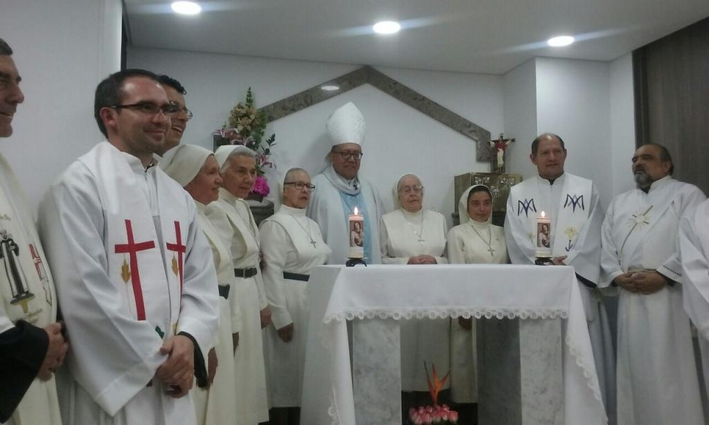 Inauguración del Hogar de Paso María Salud de los Enfermos